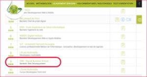 DBS au classement des 10 meilleurs Licences & Bachelors